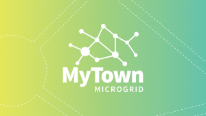 MyTown Microgrid Heyfield project graphic