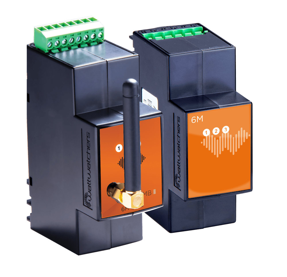 Auditor 6M and 6W energy monitoring devices