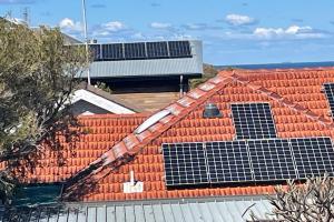 Solar rooftops in Australia